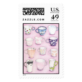 Pink Collection Stamp