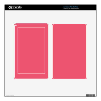 Pink Color 2 Kindle Fire Decals