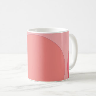 Pink color Beautiful pattern mug