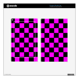 Pink Color Box Image Decals For Kindle Fire
