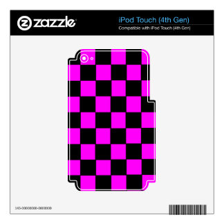 Pink Color Box Image iPod Touch 4G Decals