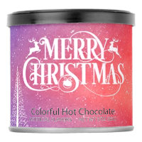 Pink Colorful Hot Chocolate Drink Mix