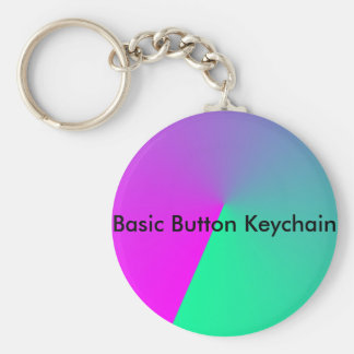 Pink Colors Images Basic Round Button Keychain