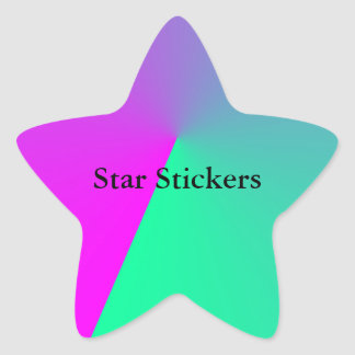 Pink Colors Images Star Sticker