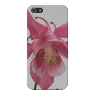 Pink Columbine 4/4s  iPhone SE/5/5s Case