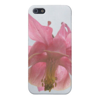 Pink Columbine 4/4s  iPhone SE/5/5s Cover