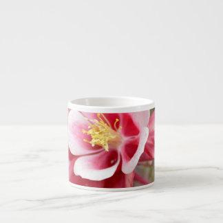 Pink Columbine Espresso Cup