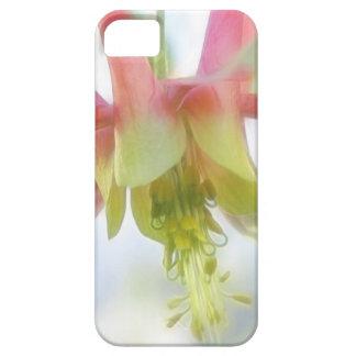 Pink Columbine Flower iPhone SE/5/5s Case