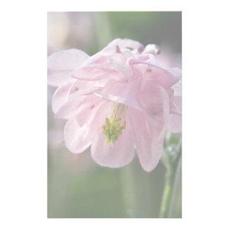 Pink Columbine Stationery Paper