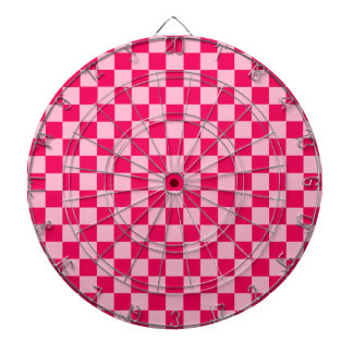 Pink Combination Classic Checkerboard by STaylor Dartboard