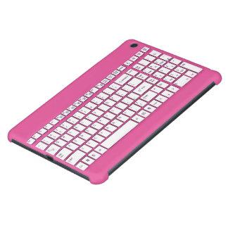 Pink computer keyboard iPad mini retina covers
