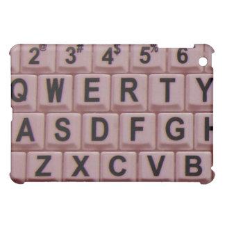 Pink Computer Keyboard iPad Mini Case