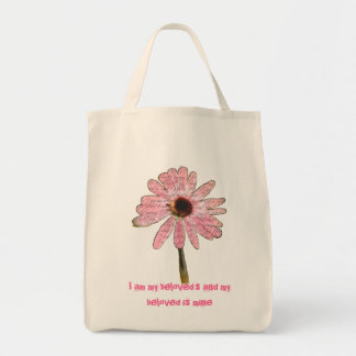 Pink Cone Flower Bag