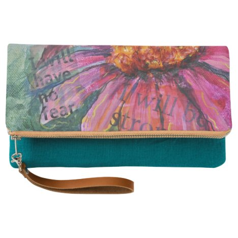 Pink Coneflower have no fear Clutch