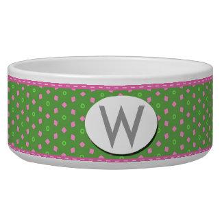 Pink Confetti Bowl
