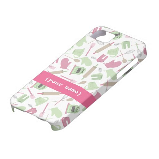 Pink Cooking iPhone 5 Case