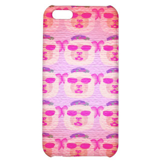 Pink Cool Teddy Bear iPhone Case iPhone 5C Cover