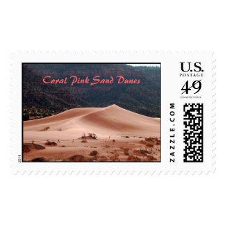 Pink Coral Dunes, Coral Pink Sand Dunes Postage