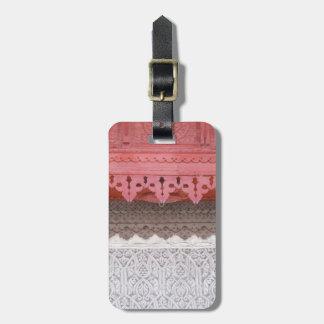 Pink Coral House Bag Tag