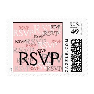 Pink Coral RSVP | Wedding Postage