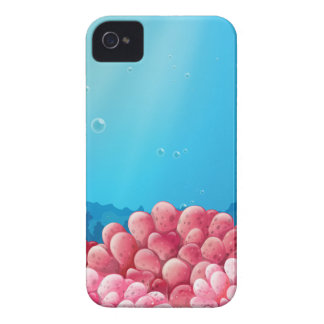 Pink corals under the sea iPhone 4 Case-Mate case