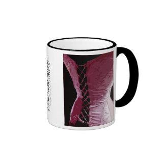 Pink Corset - Mug (Customize)