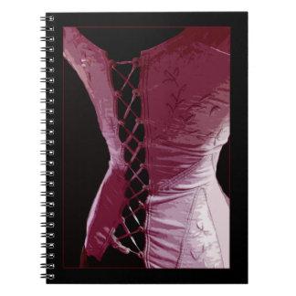 Pink Corset - Notebook