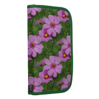 Pink Cosmos Flowers Nature Pattern Organizer