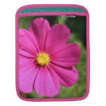 Pink Cosmos iPad Cover iPad Sleeves