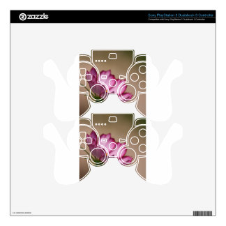Pink cosmos picote Blossom PS3 Controller Skins