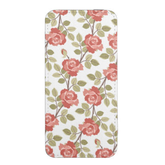 Pink Cottage Roses iPhone SE/5/5s/5c Pouch