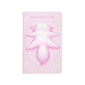 Pink Cotton Candy Cat Journal