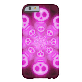Pink Cotton Candy Skulls 3 Barely There iPhone 6 Case