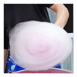 Pink Cotton Candy Spinner Card