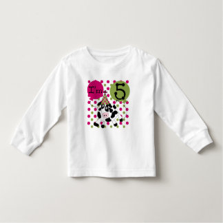 Pink Cow 5th Birthday Tshirts and Gifts