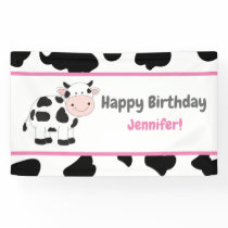 Pink Cowgirl Birthday Party Banners