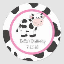 Pink Cowgirl Custom Stickers