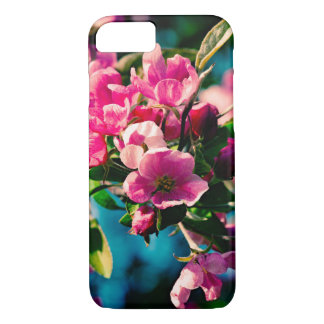 Pink Crab Apple Flowers iPhone 8/7 Case