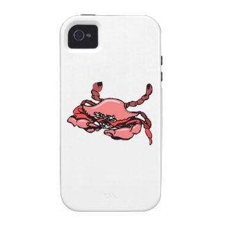 Pink Crab iPhone 4 Case