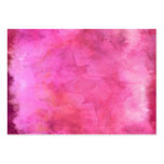 Pink Cranberry Watercolor Texture Pattern Large Business Card