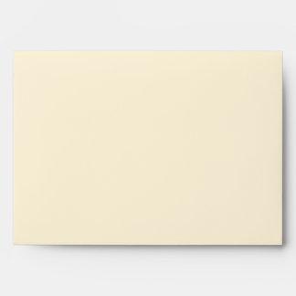 Pink Cream Pink Bow Cream Envelope