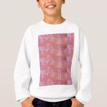 PINK Cream Silken Sparkle Print Pattern GIFTS ALL Sweatshirt