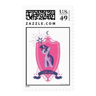 Pink Crest Postage