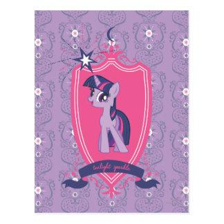 Pink Crest Postcard