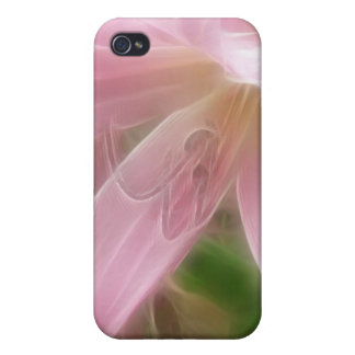 Pink Crinum Lilies 1 Angelic iPhone 4/4S Cases