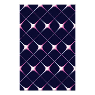 Pink criss cross stationery paper