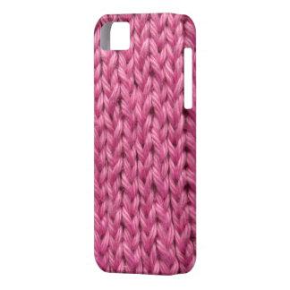 pink crochet iphone 5 case