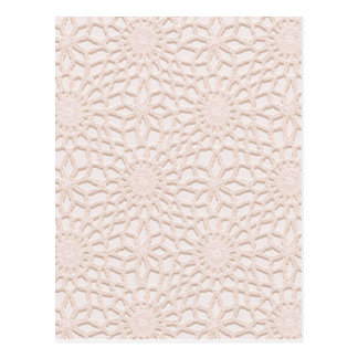 Pink Crochet Postcard