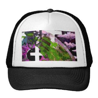 Pink Cross And Eye Trucker Hat