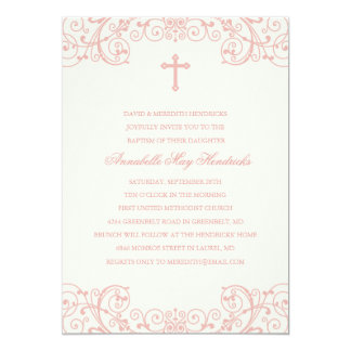 Traditional Christening Invitations Announcements Zazzle